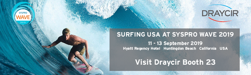 Surfing USA at SYSPRO Wave September 2019